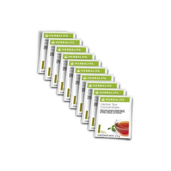 Té Concentrado de Hierbas Herbalife sabor Original Sobres 10u